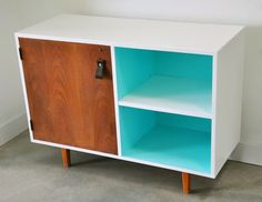 Before and After: Mid-Century Modern Cabinet