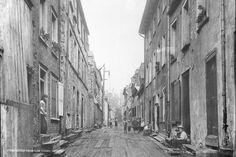 La rue du Petit-Champlain en 1890