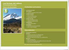 """""""Las formas del relieve"""" es una aplicación del Principado de Asturias en la que se trata el aprendizaje sobre las formas del relieve con exposiciones, actividades interactivas y actividades escritas para imprimir. Costa, Nature, Travel, Socialism, Science Area, Interactive Activities, Teaching Resources, Social Science, Exhibitions"""