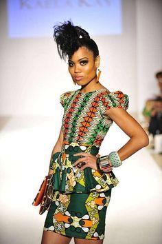 African fashion | #design #textile