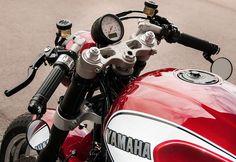 Racing Cafè: Yamaha XJR 1300 Yard Built 2015 by Yamaha Klein