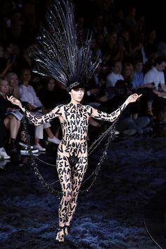 Best of bizarre style: Paris Fashion Week Spring / Summer 2014 - Slideshows and Picture Stories - TODAY.com