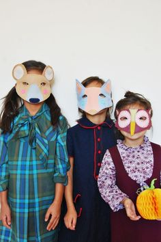 DIY Halloween: 10 Animal Masks That Are Easy And Fun To Make
