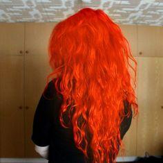CrazyColor Oranssi Shokkihiusväri -Orange   Cybershop