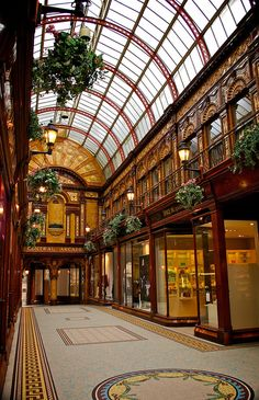Central Arcade - Newcastle upon Tyne. Stunning place
