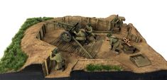 Participant of Track-link Contest: Andrew Dyson Used #MiniArt's Kit:  36058 ZIS-3 GUN Emplacement http://miniart-models.com/36058/ Source: http://www.track-link.com/gallery/10956