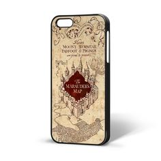 Harry Potter Marauders Map iPhone Case