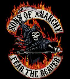 sons of anarchy logos | Tshirt Sons Of Anarchy Mod le classique California Flammes logo
