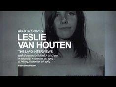 Leslie Van Houten LAPD Interviews - November 26, 1969 and November 28, 1969…