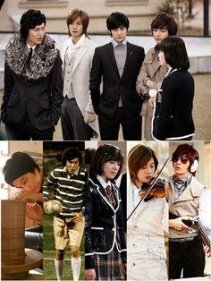 Boys Over Flowers. I was obsessed. F4 Boys Over Flowers, Boys Before Flowers, Flower Boys, Meteor Garden, Lee Min Ho, Taiwan, Kdrama, Song Joon Ki, Ji Hoo