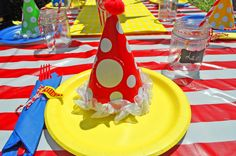 Circus/ Carnival Party by Madhatterpartybox.com
