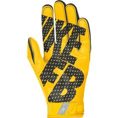 7a4d3b7a376 Nike Vapor Jet 3.0 Men s Receiver Gloves - University Gold Black