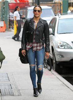 Rockets! In stock. On store and online. Paula Patton Photos: Paula Patton Out in NYC