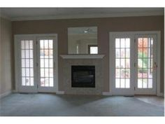 Moms New House On Pinterest French Doors Fireplaces And