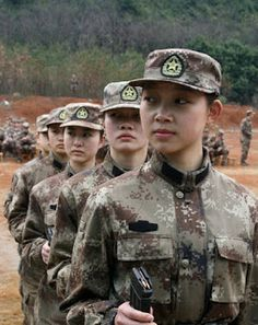Female Warriors of People's Liberation Army (PLA) | Chinese Military Review