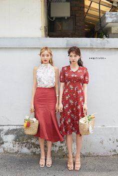 Korean Fashion – How to Dress up Korean Style – Designer Fashion Tips Korean Summer, Korean Fashion Summer, Korean Fashion Casual, Korean Fashion Trends, Korea Fashion, Asian Fashion, Daily Fashion, Korean Dress, Korean Outfits
