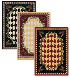 X High Country Rooster Area Rug