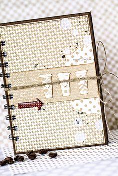 Coffee latte notebook