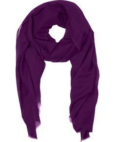 "Naledi Copenhagen ""Mastermind"" scarf - deep intense purple grape"