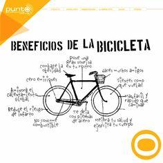 Hoy en el #DíaMundialDeLaBicicleta te platicamos sobre sus beneficios  #Bicicleta #Beneficios #Salud #PuntoProducciones