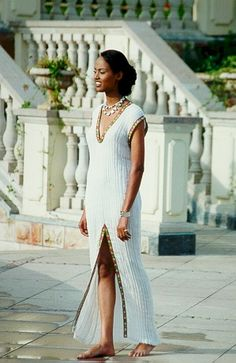Habesha dress, less is more.