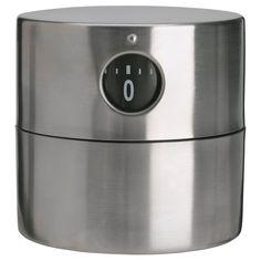 Amazon.co.jp: IKEA ORDNING タイマー ステンレススチール (80174464): ホーム&キッチン