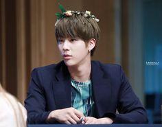 Jin @ 2015 Fansigning - 3rd mini album 화양연화 pt.1 - 150529 Boramae (Daekyo Tower 3rd floor Eye Level Hall)