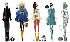 The Wonders of Ghibli : Fashion Model Style