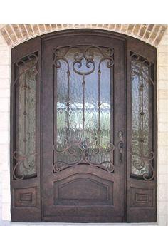 single door w sidelights