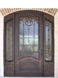 single door w sidelights