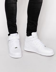 Nike+Air+Force+1+Mid+'07+Trainers+315123-111