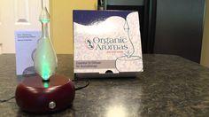 VIDEO REVIEW: Organic Aromas Handmade Essential Oil Diffuser
