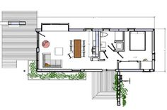 Narrow lot home fabulous floor plans pinterest for Narrow lot modern modular homes