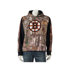 Men's Old Time Hockey Boston Bruins Decoy Fleece Hoodie, Size: Medium, Multicolor