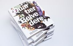 QUARTIER BELVEDERE  —  Austria  An artful non-fiction book about Vienna's new central city district Quartier Belvedere.   A place many expect to become the contemporary edge of Vienna.   By Alexander Doepel and Cordula Alessandri. Art Direction: Georg Illy