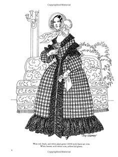 Empire Fashions Colouring Book (Dover Fashion Coloring ...