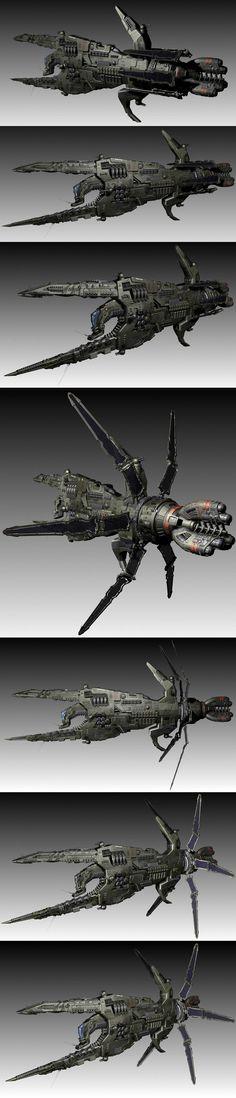 ArtStation - Concept Spaceship, Oshanin Dmitriy
