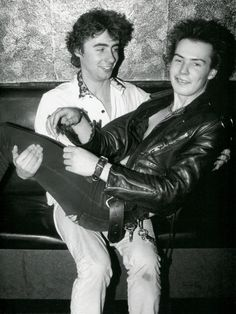 Sid Vicious and Glen Matlock at the Electric Ballroom, 1978. Photo by Sheila Rock.