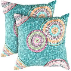 I pinned this Mia Pillow - Set of 2 from the Rizzy Home event at Joss and Main!