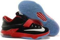 official photos f0cba be929 Buy Discount Nike Zoom KD Vii Mens Black Red With White Logo from Reliable  Discount Nike Zoom KD Vii Mens Black Red With White Logo suppliers.