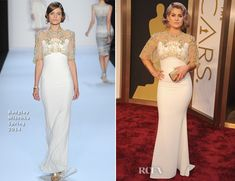 Red Carpet Oscar 2014 Fashions | ... Osbourne In Badgley Mischka - Oscars 2014 » Red Carpet Fashion Awards