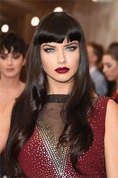 Adriana Lima - Met Gala 2015 Hair and Make Up