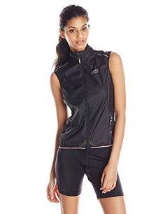 GORE BIKE WEAR Women's Power Windstopper Active Shell Vest, Black, Medium - http://ridingjerseys.com/gore-bike-wear-womens-power-windstopper-active-shell-vest-black-medium/