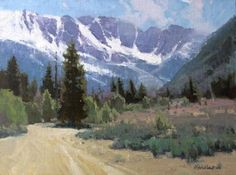 High Country Spring by George Strickland | Landscapes in Art ...