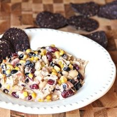 Art The perfect fall dinner, this white chicken chili is healthy, easy and fast! things-to-try
