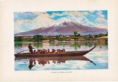 A personal favorite from my Etsy shop https://www.etsy.com/listing/163601504/vintage-print-of-mount-fuji-the