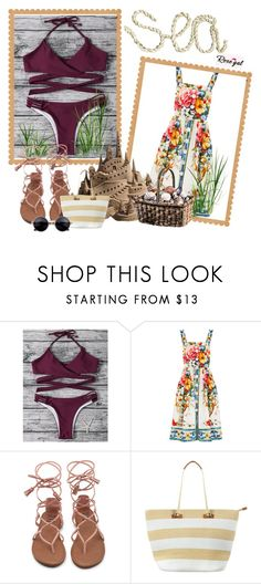 """""""Rosegal contest"""" by melieliasi ❤ liked on Polyvore featuring Dolce&Gabbana and Phase Eight"""