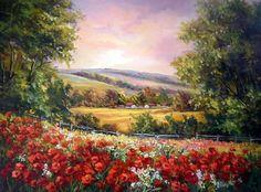 Gallery.ru / Фото #1 - Летние пейзажи художницы Anca Bulgaru - Anneta2012