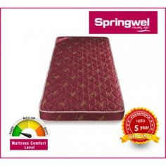 Looking for a rubberized coir mattress that helps you to take rest and provide full comfort to your body? Springwel is always ready to help you and provide best mattress as per your need or choice. Visit at - http://www.springwel.in/17-coir-mattress