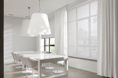 Copahome raamdecoratie 3D rolgordijn wit met overgordijn / La décoration de fenêtre. Store enrouleurs 3D blanc